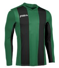 JOMA Pisa V Jersey - Green / Black (Long Sleeve)